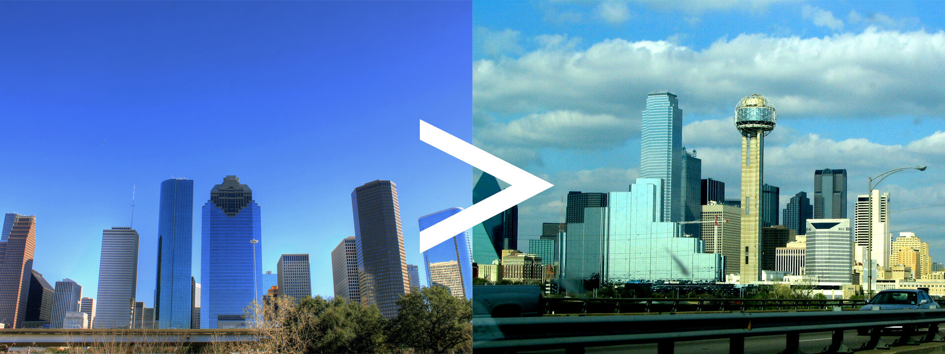 Auto Transport Route Houston to Dallas
