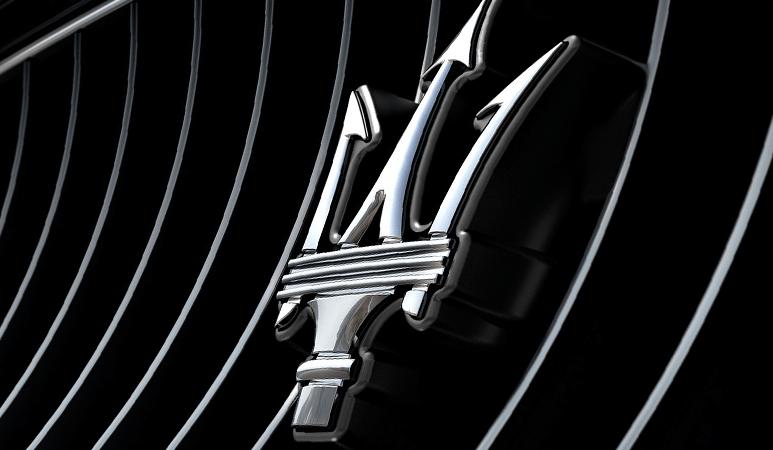 maserati emblem on grill auto transport