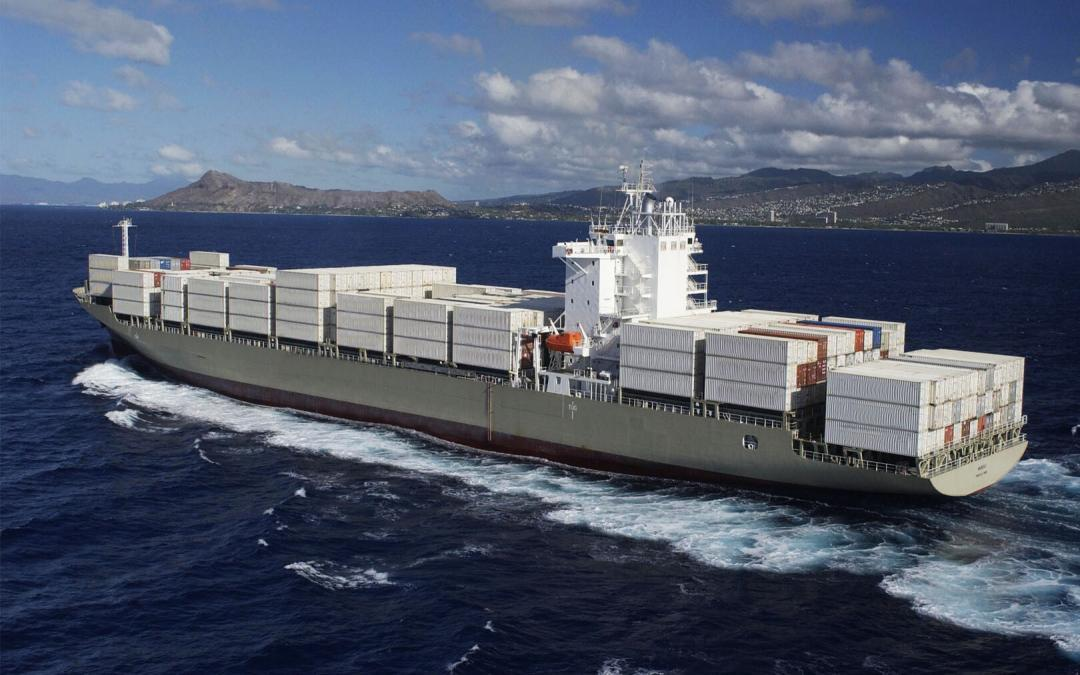 hawaii auto transport cost - ship on the water