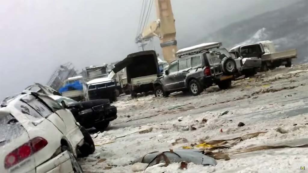 auto transport accident