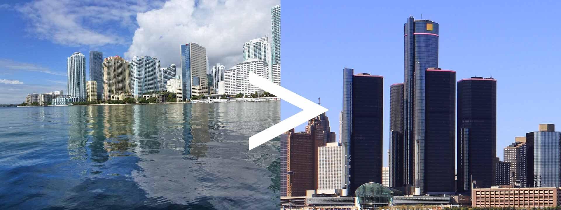 Florida to Michigan Auto Transport