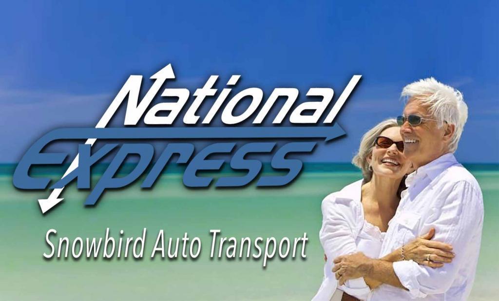 snowbirds auto transport service by national express