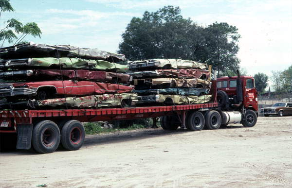 flatbed truck example load