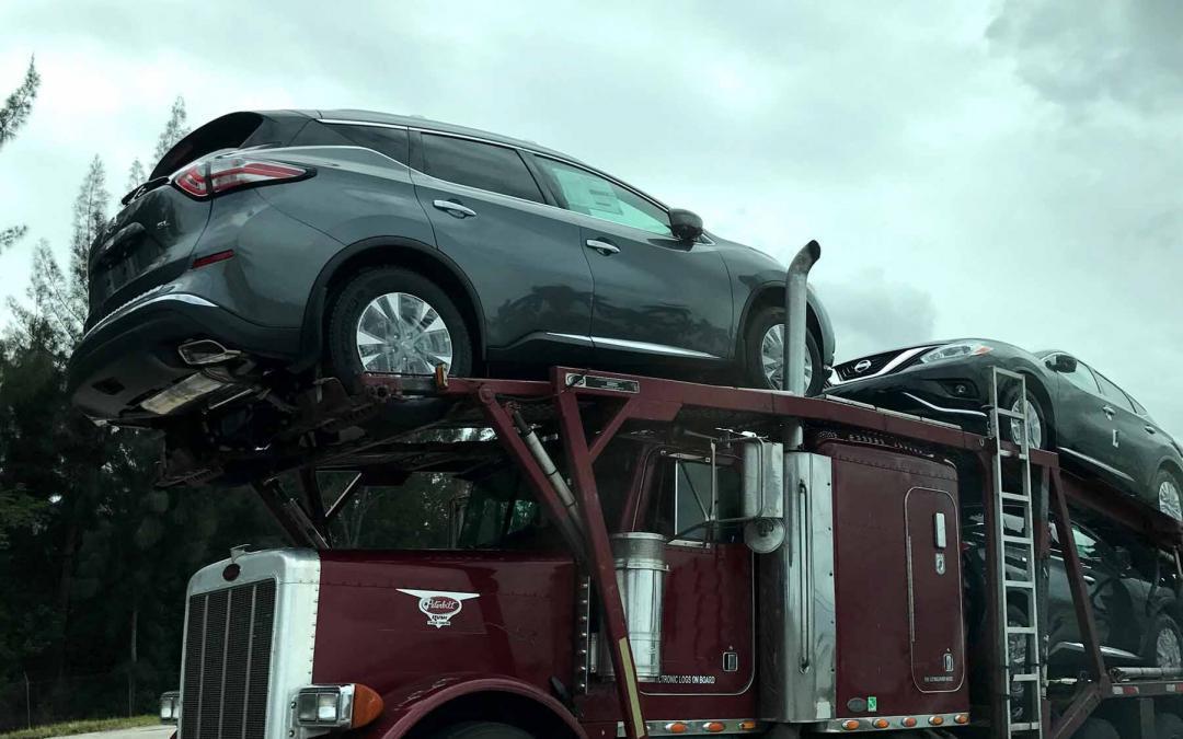 top load auto transport