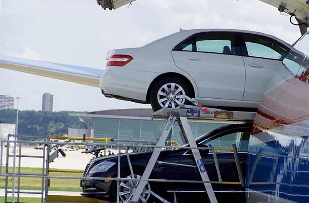 Ship a Car by Plane