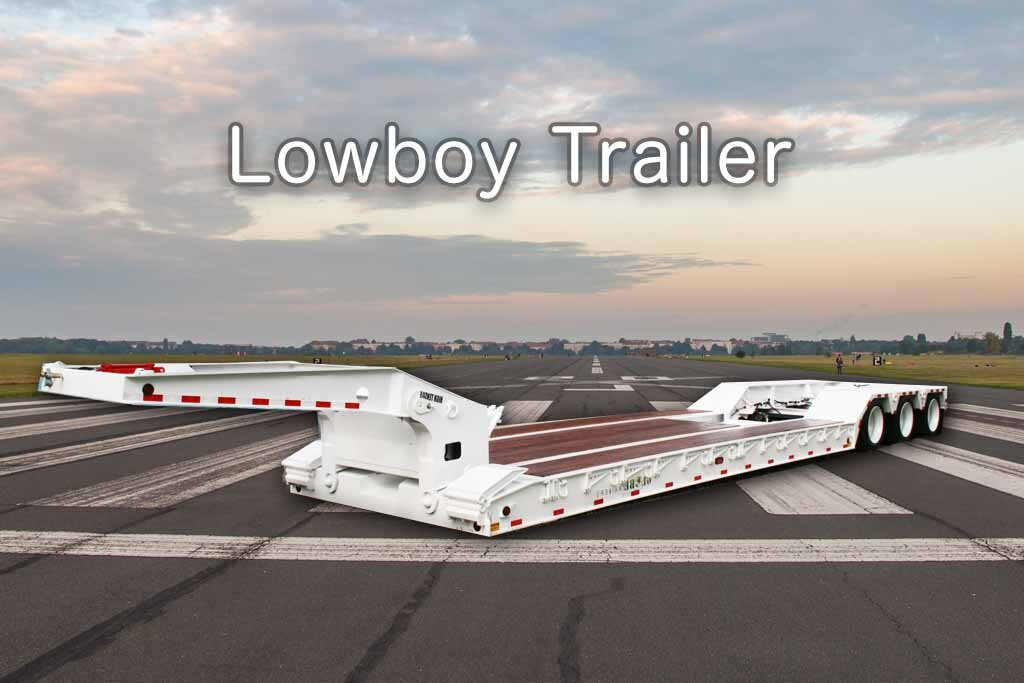 low boy trailer example