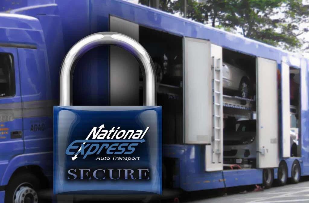 secure enclosed transport trailer