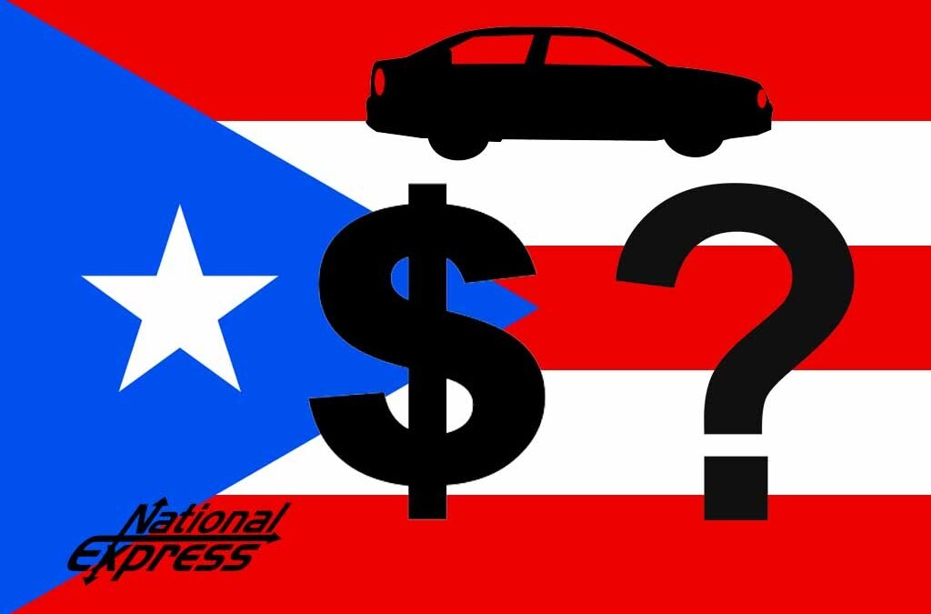 ship a car to puerto rico cost