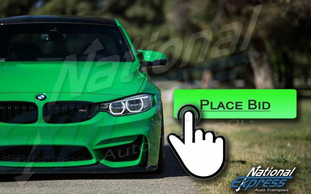 auto auction sites place bid