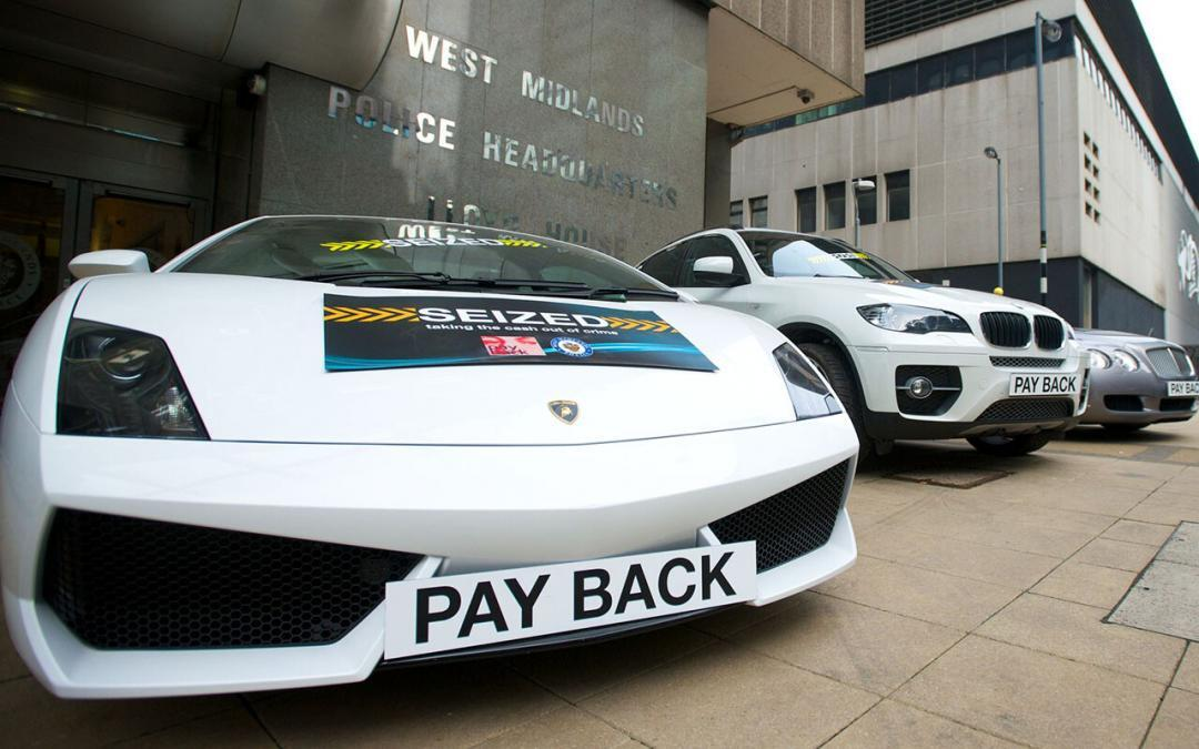police auctions cars shown